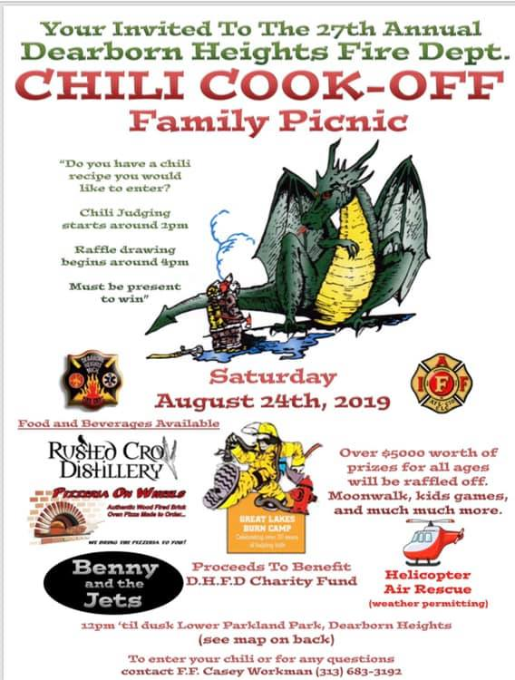 Dearborn Heights Chili Cook-Off and Family Picnic