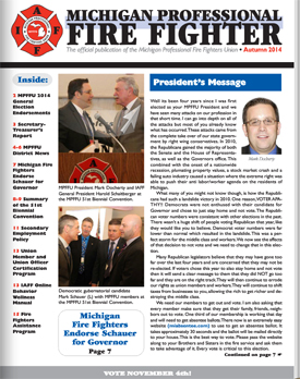 MPFFU Newsletter (Autumn 2014)